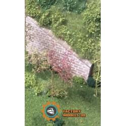 Muro de túnel rampa