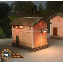 Station toilets (B)