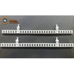 Stone railings Type 3